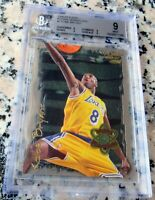 KOBE BRYANT 1996 Fleer Rookie Sensations Card SP RC BGS 9 MINT Lakers RARE $$$