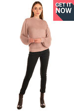 RRP €955 STELLA McCARTNEY Jumper Size 42 / S Cable Knit Loose Made in Italy
