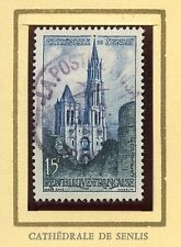STAMP / TIMBRE FRANCE OBLITERE N° 1165 CATHEDRALE DE SENLIS