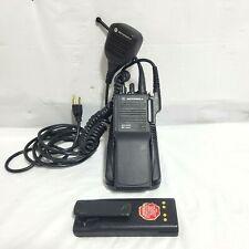Motorola Mts2000 Flashport H01ucd6pw1bn Handie Talkie Fm Radio With Pmmn4045b Mic
