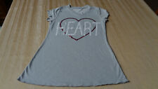 Total Girls Tunic Size L 10 12  -*Heart Breaker*  T Shirt Casual School  clean