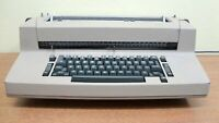 FOR REPAIR OR PARTS ONE GENUINE IBM SELECTRIC II TYPEWRITER MODEL 8X