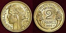 FRANCE 2 francs 1936