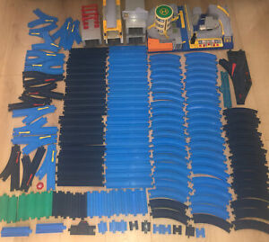 Vintage Tomy 90s Early 00s Plarail Trackmaster Train Track Bundle Over 160 Parts