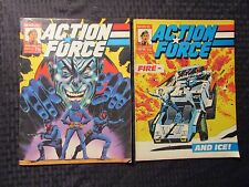 1987 Marvel UK Weekly ACTION FORCE #13 14 15 17 LOT of 4 FVF