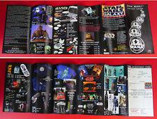 STAR WARS 1997 Small Catalogue Toys Game Mug Tie Bedspread Watch Helmet Jacket