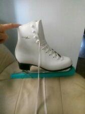 GRAF Arosa of Switzerland Ice skates Blades White Gold s 5 UK white gold sports