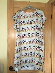 New Disney Store Mickey Mouse Nightshirt Nightgown Women many sizes