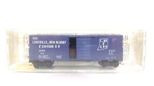 Kadee Micro Trains N LNAC Louisville New Albany Corydon RR 40' Std Box Car 24080