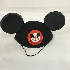 Walt Disney World Mickey Mouse Ears Hat Classic Black Park Authentic NEW!!