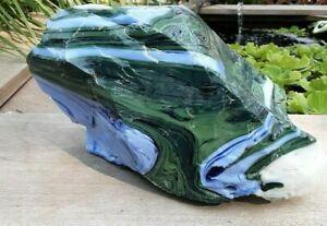 Art Glass Slag Cullet 10.8 Lbs. Aquarium landscape