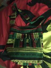 Irie Beads Rasta Reggae Large Festival Tote Bag Red Yellow Green Black