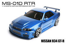MST MS-01D RTR 1/10 Scale 4WD RC Drift Car (2.4G) w/carbody - NISSAN R34 GT-R