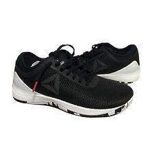 Reebok CrossFit Nano Flexweave 8.0 Women's Athletic Shoes Sz 9 M(B) Black/White