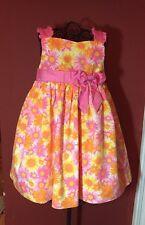 Jillianu0027s Closet Girls Sz.2T Floral Woven Spring Summer Dress ...