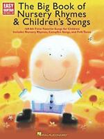 The Big Book of Nursery Rhymes and Children's Songs (Easy Guitar) by  | Paperbac