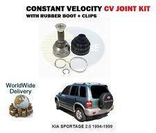 FOR KIA SPORTAGE 2.0 4WD FE 1995-1999 OUTER CONSTANT VELOCITY CV JOINT + BOOT
