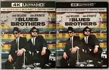 THE BLUES BROTHERS 40TH ANNIVERSARY EDITION 4K ULTRA HD BLU RAY + SLIPCOVER SLIP