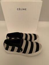 Céline Sneakers, Schwarz-Beige, Gr. 39