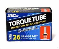Irc Torque Downhill Mountain Bike 26 Inch Tubes (Schrader 26 X 2.25-3.0)