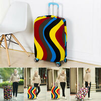 """Elastic Suitcase Covers Cover Dustproof Travel Luggage Protector 20"""" 24"""" 28"""" 30"""""""