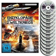12 DVD Metall Box - Die große Enzyklopädie des Kriegstechnik im 2.Weltkrieg  Neu
