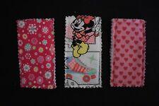 Icy Pole/Zooper Dooper holders - set of 3 handmade girls designs