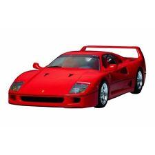 Voitures, camions et fourgons miniatures rouge Ferrari