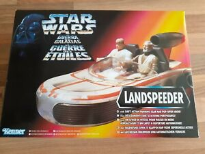 STAR WARS POWER OF THE FORCE LANDSPEEDER KENNER 1995