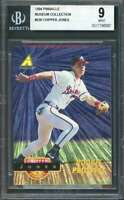 Chipper Jones Rookie 1994 Pinnacle Museum Collection #236  Prospect BGS 9