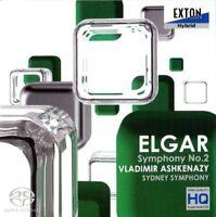 Edward Elgar Symphony No. 2 CD SACD High Quality Audio - Stunning UK RARE Stock