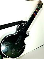 PlayStation 3 PS3 Guitar Hero Wireless Les Paul Gibson Black No Dongle