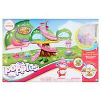 Popples Deluxe Pop Open Treehouse Playset w/ Exclusive Sunny Pop Up Figure NEW!