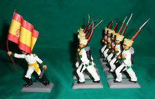 SPANISH Marching INFANTRY Napoleonic War set DSG Soldiers ARGENTINA Britains