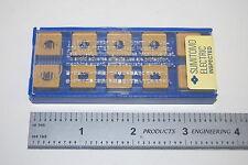 (10) NIB Sumitomo SNMG433EGE AC820P Carbide Inserts SNMG120412N-GE