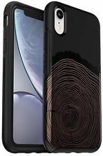 OtterBox Symmetry Series Protective Case iPhone XR Wood You Rather Easy-Open Box