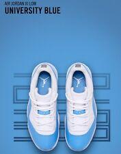 Nike Air Jordan XI Retro 11 Low University Blue 2017 Columbia 528895-106 Sz:8