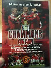 Manchester United Champions Again - Season Review 1999/2000 reg.2 DVD (soccer)