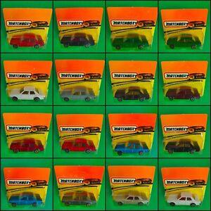 diecART - BULGARIAN MATCHBOX FORD CORTINA MK IV 1979, SUPERFAST, VARIATIONS MINT