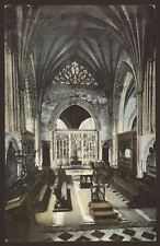 Devon. Exeter. Exeter Cathedral. Lady Chapel West - Vintage Printed Postcard