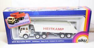 Siku 2919 Mercedes Benz Heitkamp Tipper Truck In Its Original Box - Mint Rare