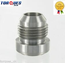 AN -10 (AN10) Male Mild Steel Weld On Fitting / Bung