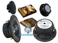 """SUPER 2.2 CDT AUDIO 6.5"""" 2-OHM SUB-BASS COMPONENT SPEAKERS SYSTEM"""