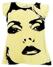 Amplified BLONDIE strass Eye's Star tunique tee-shirt XS/S