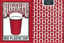 BICYCLE RED CUP PLAYING CARDS