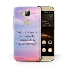 Rigid Plastic Matte Mobile Phone Cases & Covers for Huawei