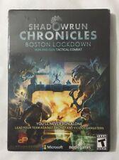 Shadowrun Chronicles Boston Lockdown Game PC Mac Linux 2015 New Sealed Free Ship
