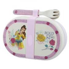 Disney Enchanting Collection Belle Organic Snack Lunch Box With Cutlery A28940