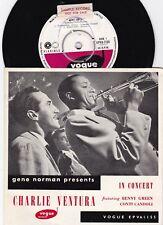 Charlie Ventura In Concert ORIG OZ Promo EP VG+ '57 Vogue Jazz Bop Swing