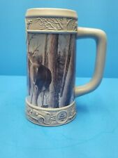 Miller Beer Holiday Stein 1998 Silent Sentinel by Kevin Daniel First In A Series